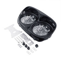 Motorcycle 5 1/2 LED Headlight Headlamp Assembly For Harley Road Glide FLTR 2015 2018 Accessories