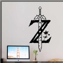 The Legend of Zelda wall decal game gamer room home art decor video stickers teens sticker G533
