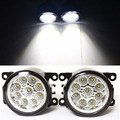 For Mitsubishi L200 KB_T KA_T Pickup  2005-2015 Car Styling LED Fog Lamps Refit   12V Fog  Lights