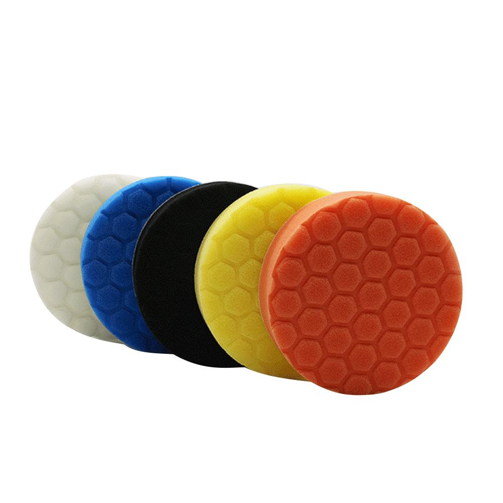 Image 4 - 5PCS/Set3/4/5/9/7inch Buffing Pad Car Polishing Pad Foam For Car Polisher Buffer Car Cleaner Tools-in Sponges, Cloths & Brushes from Automobiles & Motorcycles