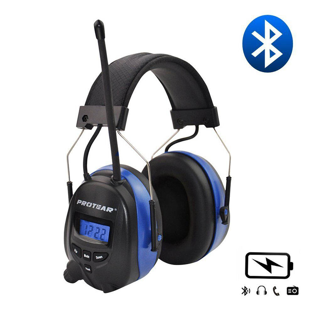 Lithium battery Bluetooth Electronic Shooting Ear muffs Hearing Protection FM/AM Radio Ear Defenders Tactical ProtectorLithium battery Bluetooth Electronic Shooting Ear muffs Hearing Protection FM/AM Radio Ear Defenders Tactical Protector