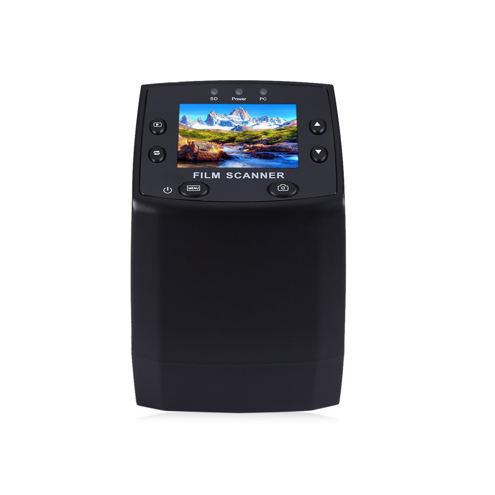 все цены на Professional EC717 5MP 35mm Negative Film Slide Viewer Scanner USB 2.0 Digital Color Photo Copier TFT LCD Screen For Office H онлайн
