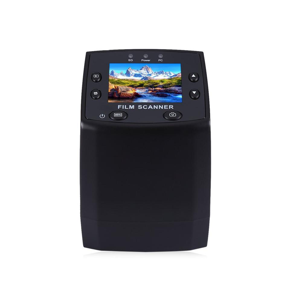 Prix pour Professionnel EC717 5MP 35mm Film Négatif Diaporama Spectateur Scanner USB 2.0 Numérique Couleur Photo Copieur TFT LCD Écran Pour Bureau H