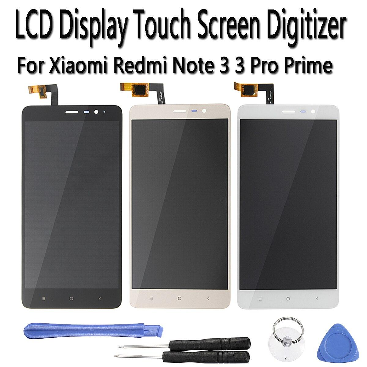 טלפון נייד 5.5 אינץ מסך Touchs חלקי חילוף פנל זכוכית Digitizer עצרת מסך LCD לתצוגה Xiaomi Redmi הערה 3