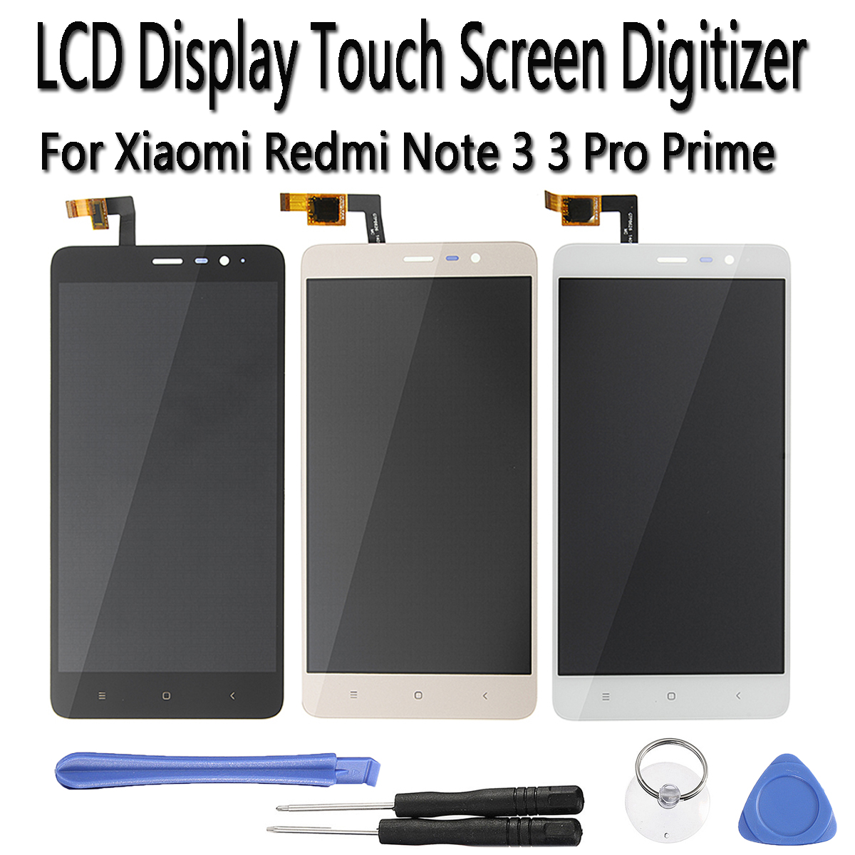 5.5inch Mobile Phone Touchs Screen LCD Display Screen Digitizer Assembly Glass Panel Replacement Parts For Xiaomi Redmi Note 3