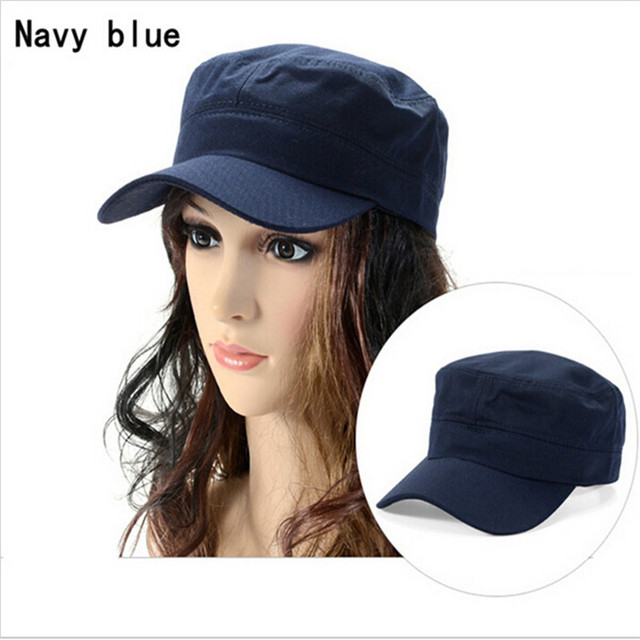 53789000548 Women Men Baseball Caps Fashion Summer Sun Hat Casual Military Army Cap  Castro Cadet Patrol Cap