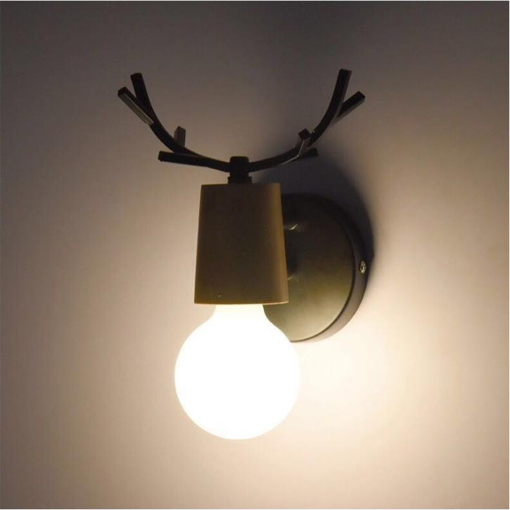 LED Wall Lamp Wooden Iron Nordic Vintage Modern Loft Bathroom Bedroom Living Room Bedside Stair Creative Home Lights 4