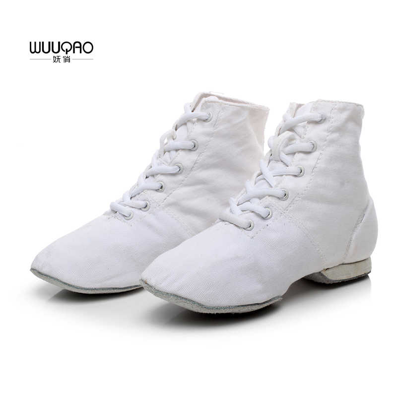 46b761b3aba Detail Feedback Questions about Women's Men's Jazz Dance Shoes Lace ...