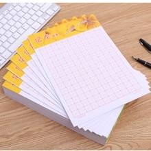 CChinese karakter oefenboek grid praktijk lege vierkante papier Chinese oefening werkboek. size 6.9*9 inch, 20 boeken/set