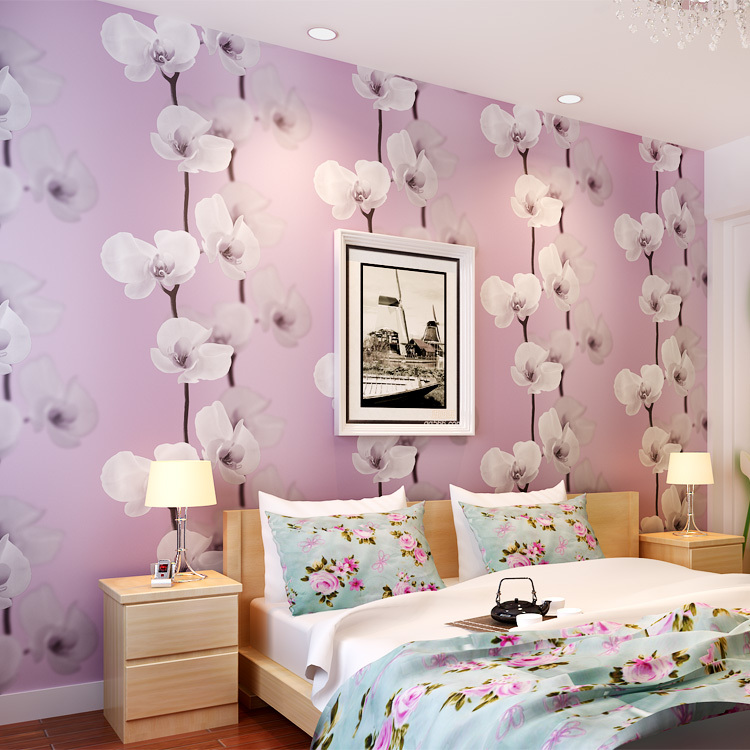 Home decor wallpaper design home design and style for Wallpaper decoration for bedroom