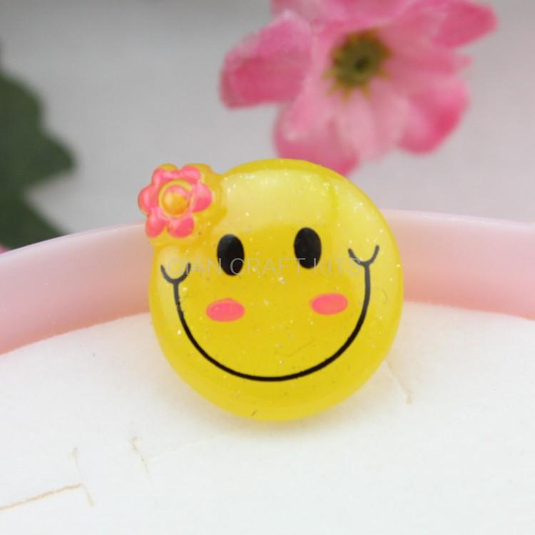 Flowers With Smiley Face Clip Art