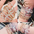 Elasticity Bijoux Charm Infinity Bracelets Cross/8/Love Bracelets Gold Silver Color Bracelets Jonc Femme Pulseiras Feminina