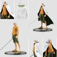 One Piece Figure Silvers Rayleigh Gol D Roger Monkey D Luffy Figure Figuarts Zero 17CM PVC