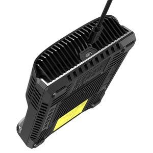 Image 4 - NITECOR cargador de batería inteligente UM4 C4 VC4, LCD, USB, Original, para LiFePO4, 18650, 14500, AA, 26650, 3,7, 1,2 V, 1,5 V