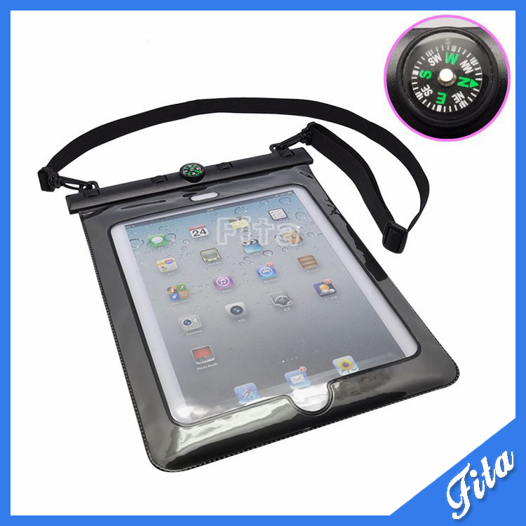 Waterproof Case Pouch For iPad 2/3/4/Air 10 inch Cover for Tablet 10 Meters Underwater Diving Bag 2017 newest cool bell brand nylon handbag messenger bag for ipad 1 2 3 4 for 8 9 10 tablet case free drop shipping 2027