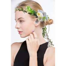 Elegant Artificial Flower Hair Jewelry Wedding Accessories Comb Bridal Tiara Ornaments Wholesale