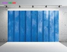 SHENGYONGBAO Art Cloth Digital Printed Photography Backdrops Wood planks theme Prop Photo Studio Background JUT-1633