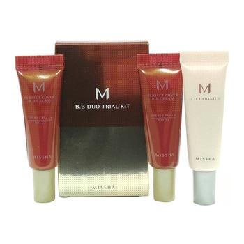 MISSHA M BB Duo Trial Kit B ( #23 #27 ) MISSHA BB Boomer Primer 10ml + MISSHA M perfect Cover BB Cream 10ml Korea Cosmetics фото