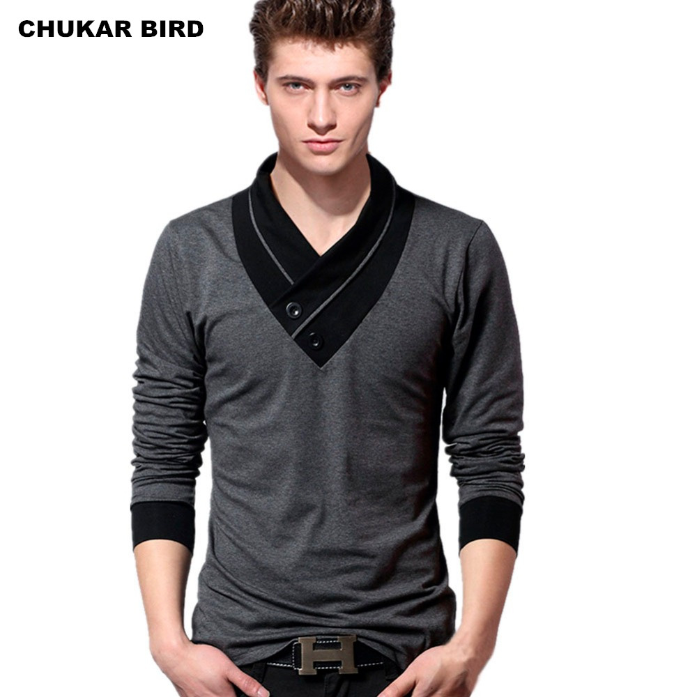 Buy chukar bird men long sleeve t shirt for Where to buy casual dress shirts
