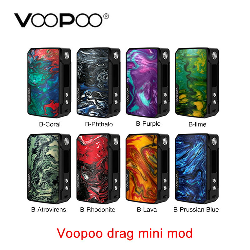 Newest VOOPOO Drag Mini MOD 117W with 4400mAh Battery Innovate GENE FIT Chip E cig Vape