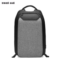 High quality unisex laptop backpack Smart password lock anti theft backpack teenager Borsa college da ragazzo Borsa a tracolla