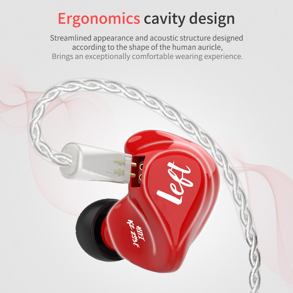 In-Ear Dynamic Earphones HIFI Ergonomic Noise Reduction Wire Pluggable Headset ND99