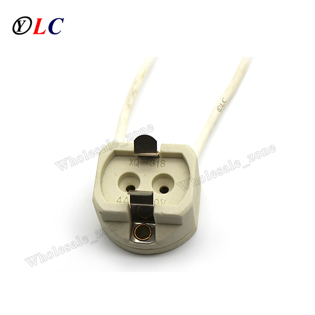 G12 Lamp Holder Led Socket Adapter Porcelain Bulb Base Ceramic Converter  Extender Metal Halide CDM