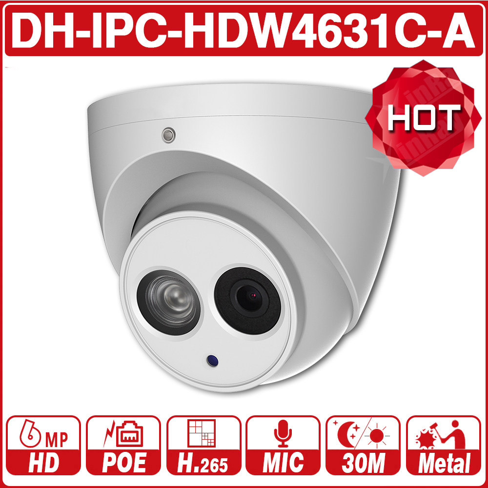 Camera De Surveillance Exterieur Dahua Online Shop Dahua Ipc Hdbw4631r S 6mp Ip Camera Ik10 Ip67 Ir30m