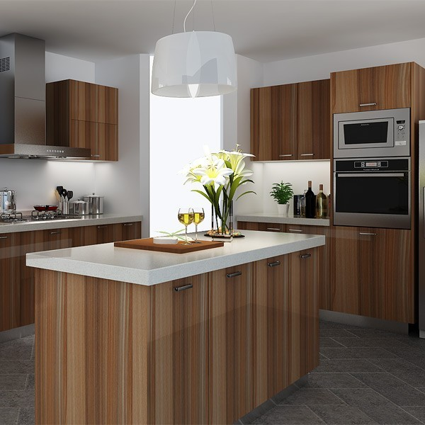 Kenya Project Rady Made Wall Mounted Wooden Kitchen Cupboard