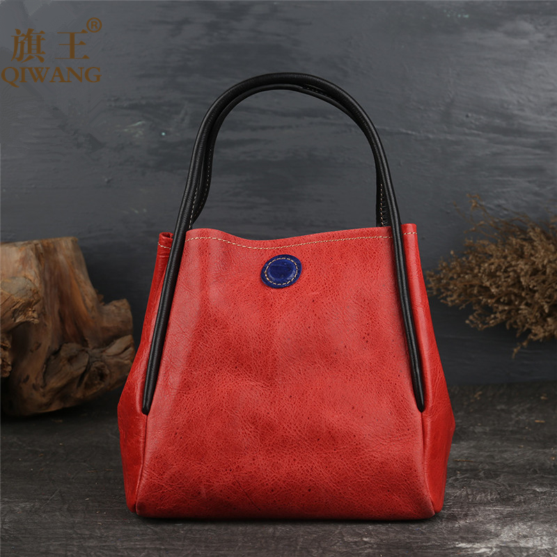 Luxury Brand Designer Leather Handbag for Women Bags Genuine Leather Retro Bag Female Cow Leather Quality