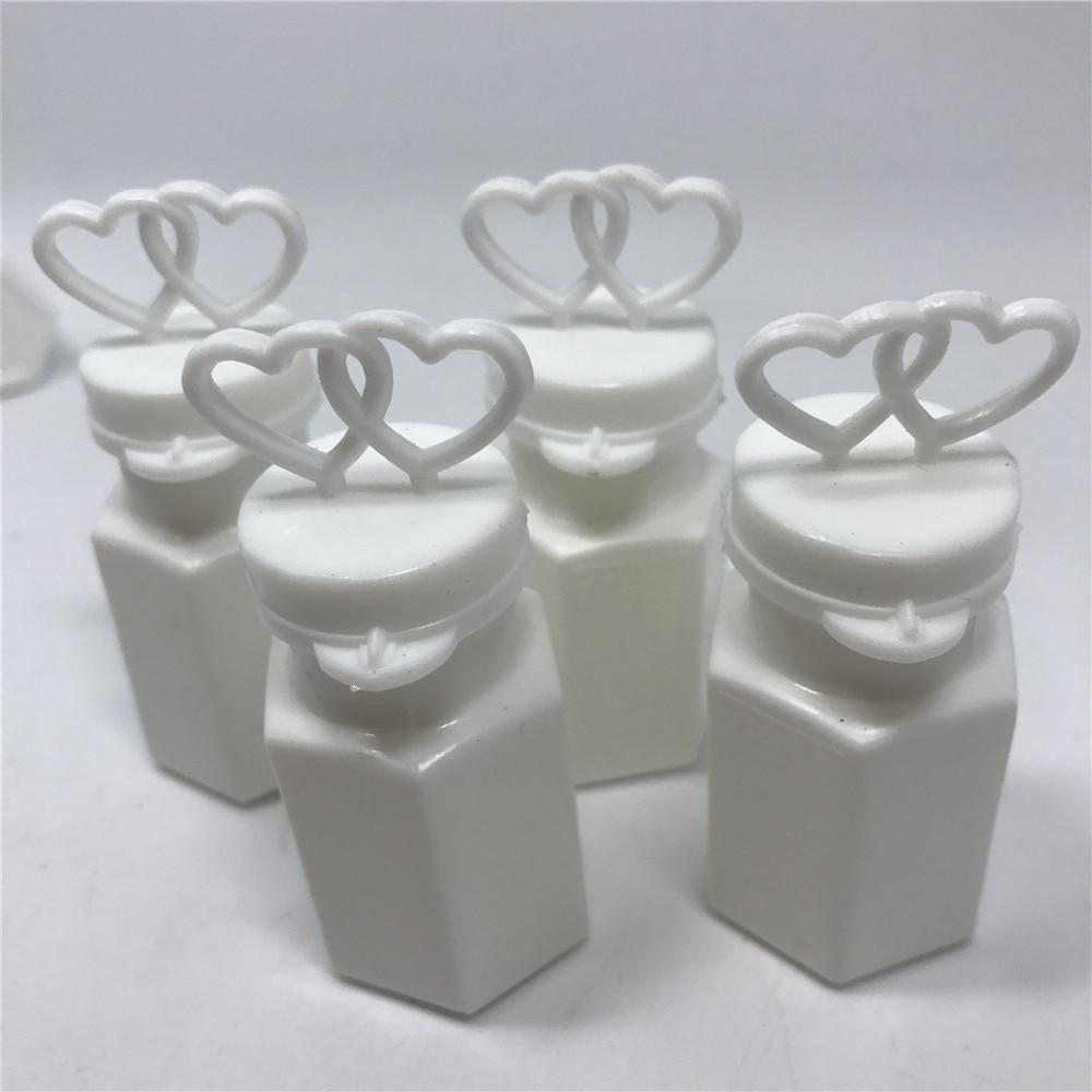 Free Shipping Wedding Bubble Bottle Heart Shaped Bubble Tube Favors