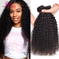 Peruvian Curly Hair Afro Kinky Curly 3 Bundle Deals 8A Grade Virgin Unprocessed Peruvian Kinky Curly Wave Human Hair Extensions