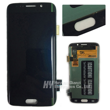 For Samsung galaxy s6 edge lcd display touch screen digitizer G925f G925I G925FQ G925S GG925S G925K green color  freeshipping