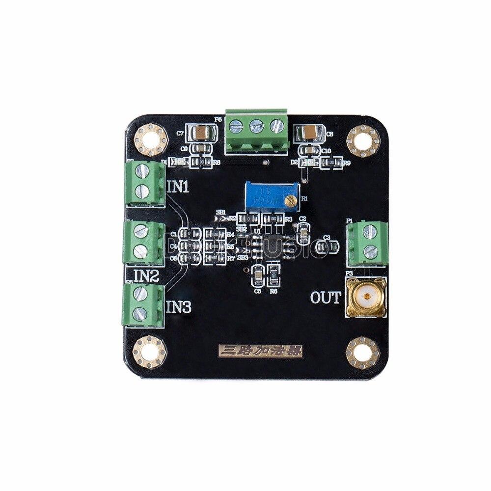 Circuito Operacional : Inphase canal víbora modul amplificador operacional inversa