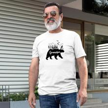 Gift for Grandpa Bear Shirt T Him Papa Grandfather to be Tee Mens Pregnancy Announcement Hipster Tumblr tops