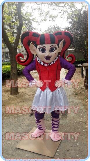 Monster high costume della mascotte di fantasia personalizzata