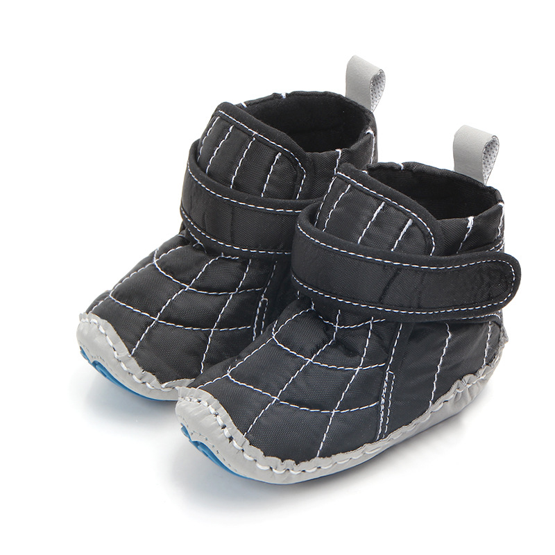 Newborn Prewalkers In Autumn winter Cotton fabric Snow Baby boots Crib Bebe Boy Girl Super Keep Warm Infant Toddler Boots