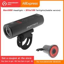 ENFITNIX Navi600 phares intelligents lumière de vélo USB Rechargeable route vélo de montagne Xlite 100 feux arrière intelligents