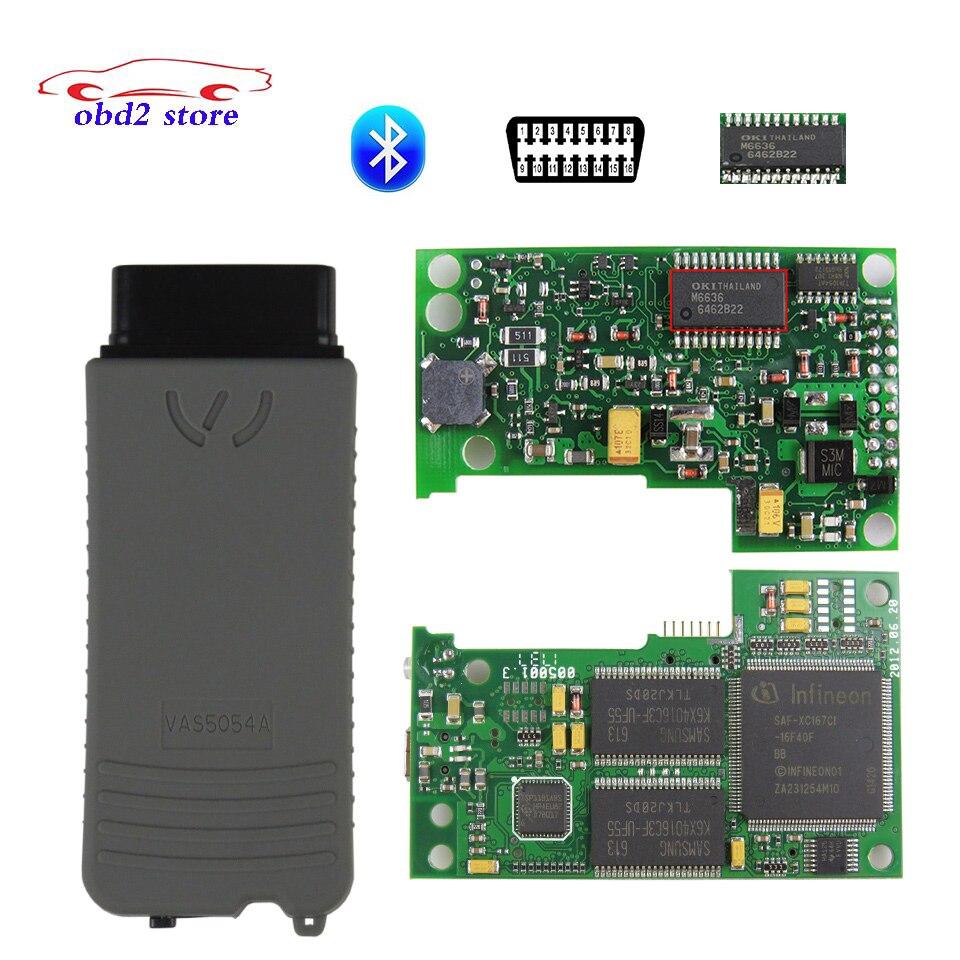 VAS5054A Plein Puce VAS 5054A Oki Voiture Outil De Diagnostic Vas5054 Odis V4.3.3 5054 Bluetooth OBD2 Auto Outil De Diagnostic Scanner