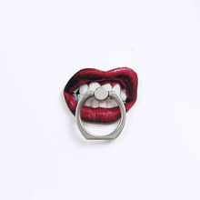 Shaped Mouth Finger Ring Lips Mobile Phone Smartphone Stand Holder For iPhone7 Xiaomi Smart Phone GPS MP3 Car Mount Stand