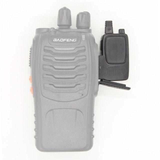 Talkie walkie bluetooth sans fil adaptateur de programmation avec emplacement gps partager pour baofeng uv 5r bf 888s anysecu station de radio