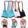 Mens Underwear Boxers Transparent Slip Men's sexy underwear sling siamese jockstrap Siamese Boxers Male Gay Underwear S~M~L