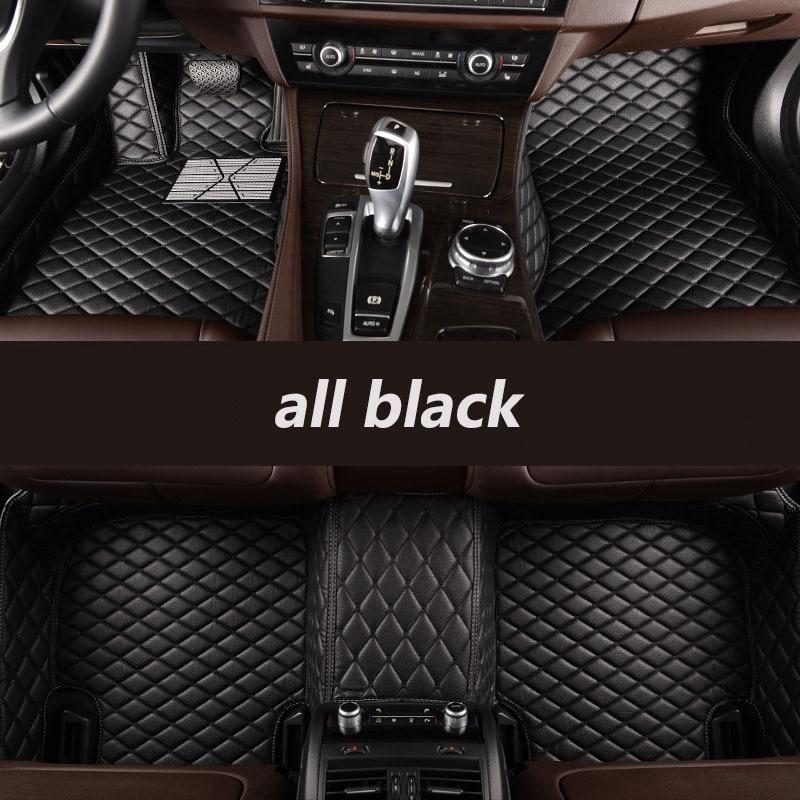 Kalaisike personalizado esteiras do assoalho carro para bmw todos os modelos x3 x1 x4 x5 x6 z4 f30 f10 f11 f25 f15 f34 e46 e90 e60 e84 e83 e70 e53 g30 e34