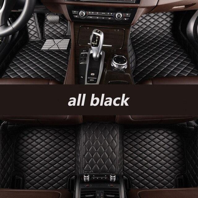 kalaisike Custom car floor mats for BMW all models X3 X1 X4 X5 X6 Z4 f30 f10 f11 f25 f15 f34 e46 e90 e60 e84 e83 e70 e53 g30 e34