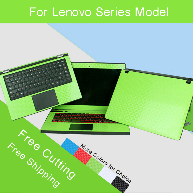 Laptop Sticker Skins For Lenovo Series Personality Free Cutting Pure Color Protective Notebook Decal Vinyl Case Stickers