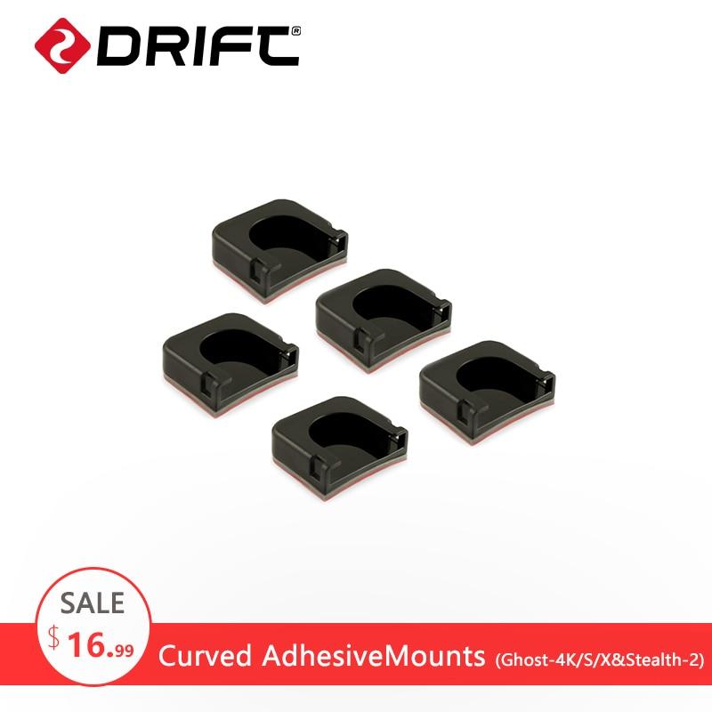 Drift Curved Adhesive Mount for Drift Ghost Gopro Hero 5 4 Mount kit xiaomi yi 4k eken SJCAM Action Sport Camera Accessories