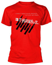 My Chemical Romance Friends T-Shirt  Newest 2019 Fashion Stranger Things T Shirt Men