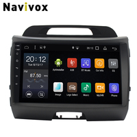 Navivox Android 7.1 Car DVD GPS Radio For KIA Sportage 2011 2015 Car Multimedia Player GPS Navigation Head Unit Autoradio Stereo