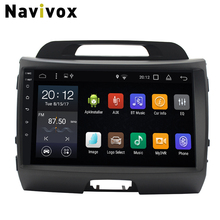 Navivox Android 7.1 Car DVD GPS Radio For KIA Sportage 2011-2015 Car Multimedia Player GPS Navigation Head Unit Autoradio Stereo