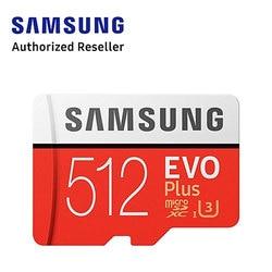 Samsung 1 pcs/10 pcs Cartão de Memória Micro SD de 512GB 256GB 128GB GB 32 64GB Cartões microsd Atacado Dropshipping TF kart Carro Freeship